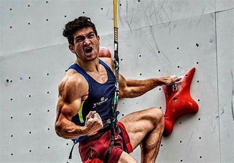 رکورددار دنیا مدالش را به زلزله زدگان اهدا کرد