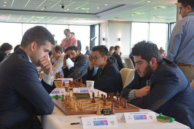مقصودلو بالاتر از قهرمان شطرنج دنیا در مسابقات گرند سوئیس