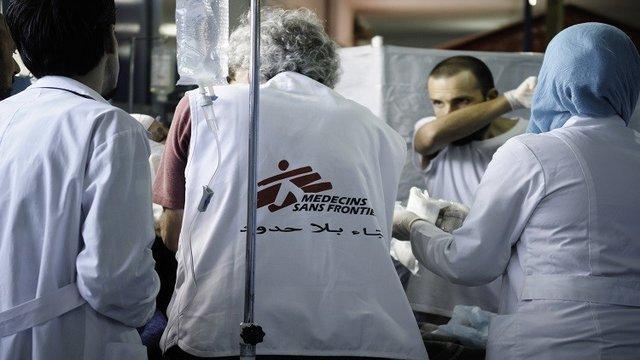 فعالیت سازمان پزشکان بدون مرز در شمال سوریه متوقف شد